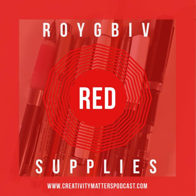 ROYGBIV Suupplies - RED