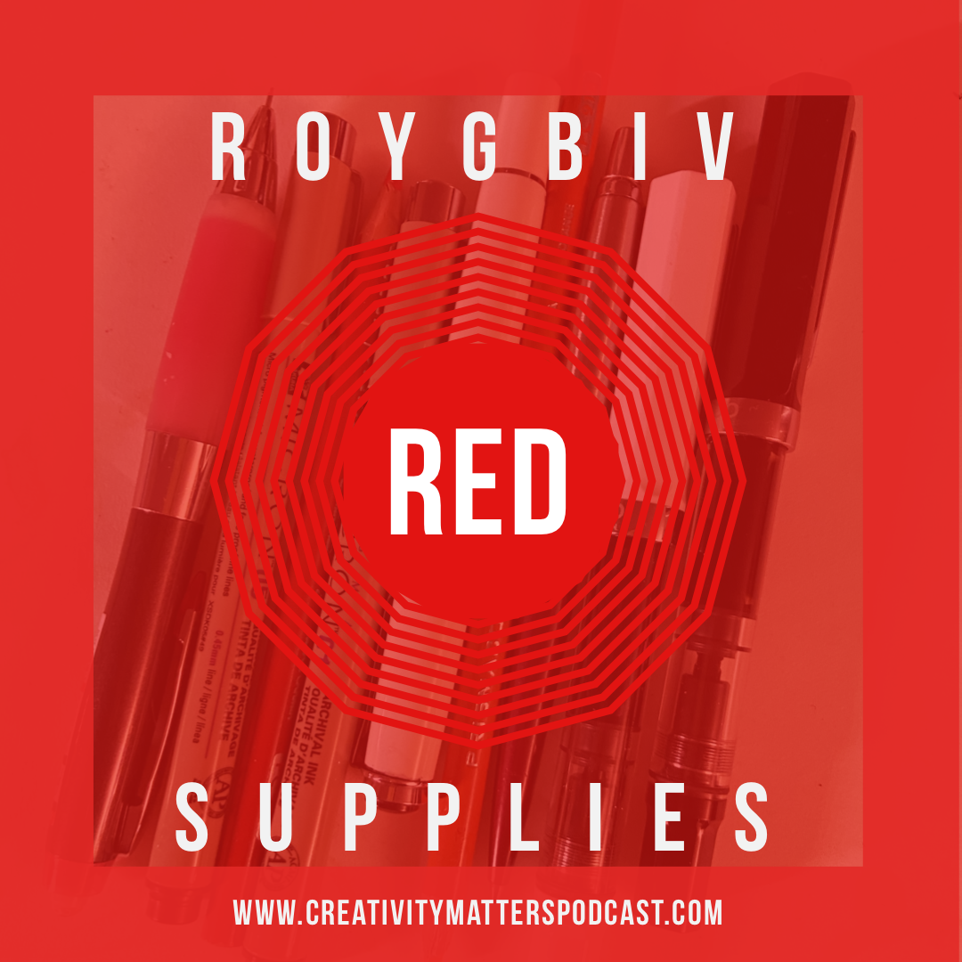 ROYGBIV Suupplies - RED
