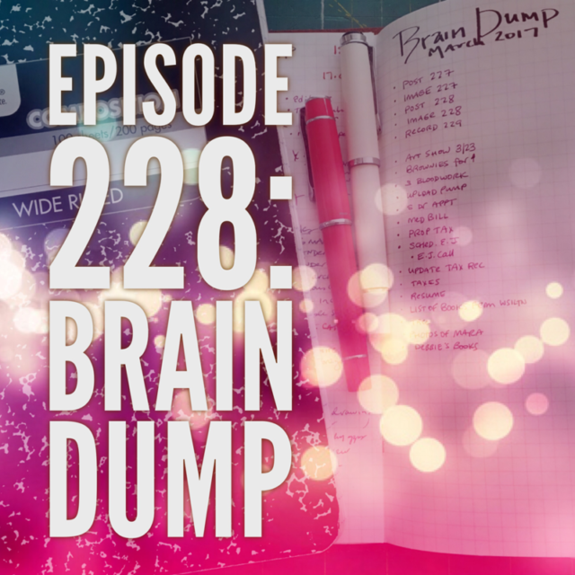 Episode 228: Brain Dump