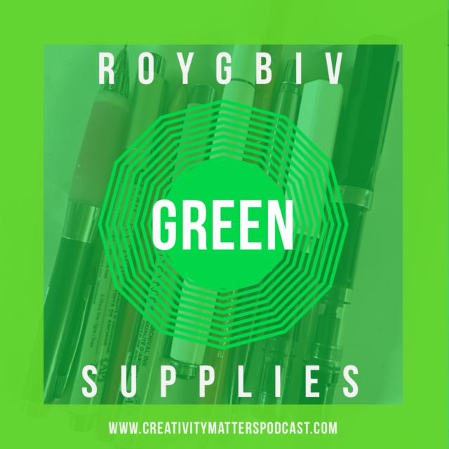ROYGBIV Supplies Green