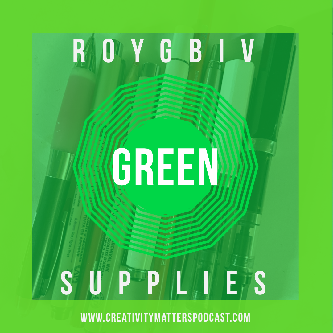 ROYGBIV Supplies Green