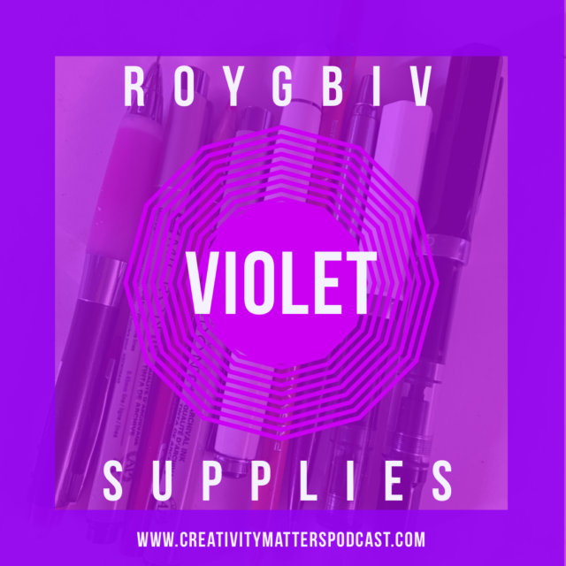 ROYGBIV Supplies Violet