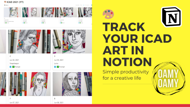 Track ICAD in Notion