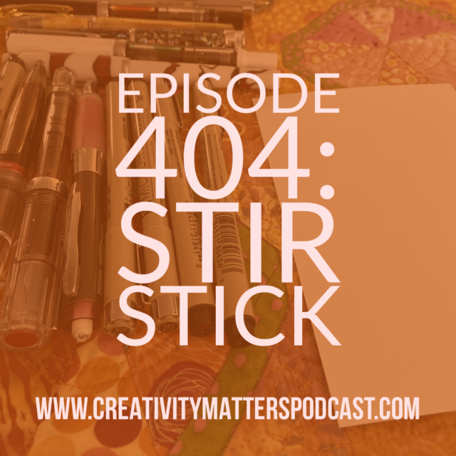 Episode 404: Stir Stick