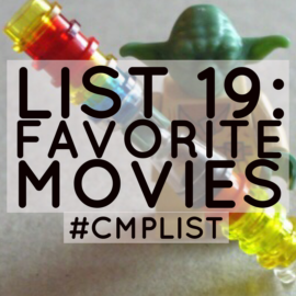 CMP List Challenge 19 - Movies