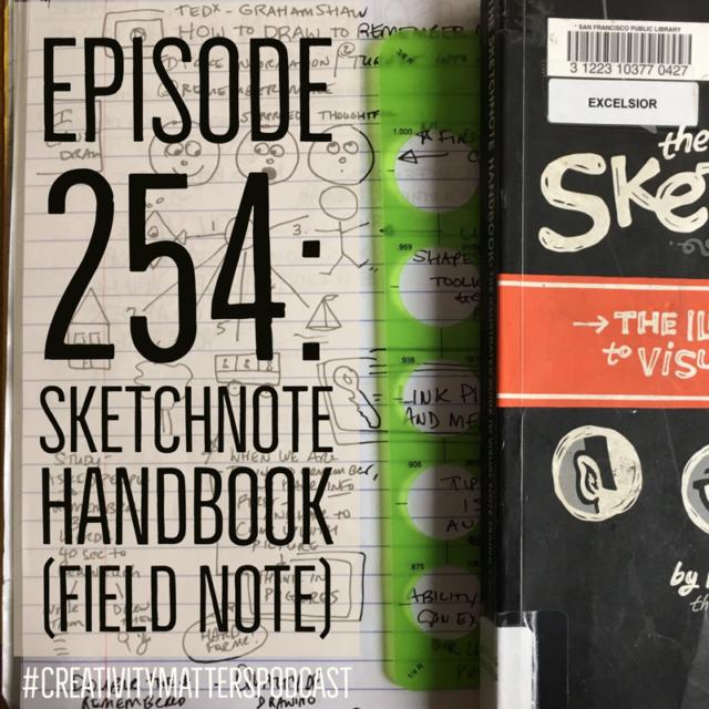 Episode 254: Sketchnote Handbook