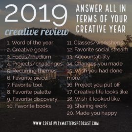 2019 Year-End Review Creative Year Questions