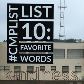 CMP List Challenge 10 - Words