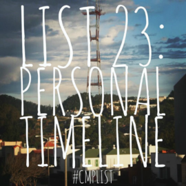 CMP List Challenge 23 - Personal timeline